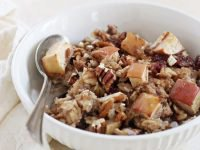 Spiced Cranberry Apple Baked Oatmeal