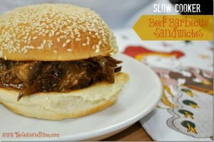 Slow Cooker Beef Barbecue