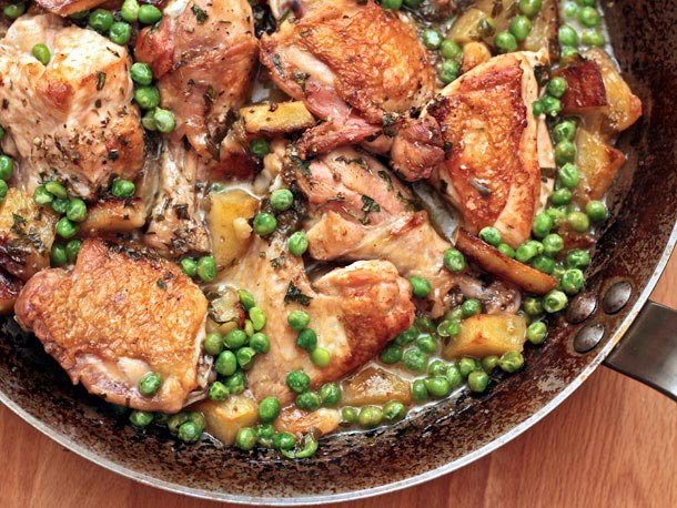 Chicken Vesuvio Recipe